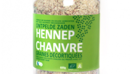 Ontpelde hennepzaden - Hemp-Food.eu